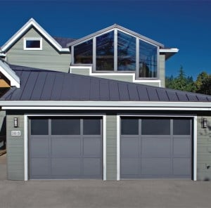 Custom Mixed Panel Garage Doors for Solvang, Buellton, Carpinteria, Goleta
