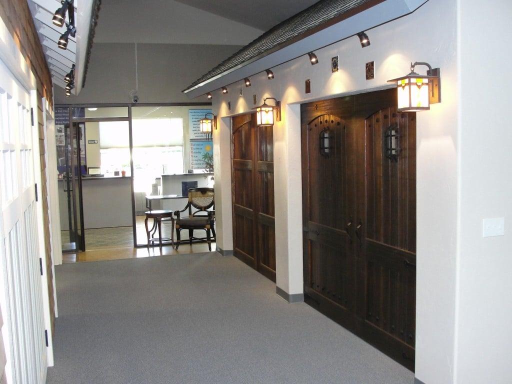 garage door showroom