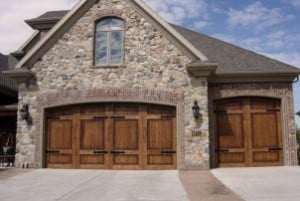 Wood Carriage Garage Doors for San Luis Obispo, Montecito, Santa Barbara, Port Heuneme